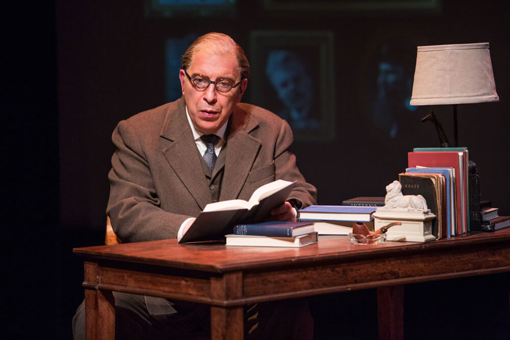 Max McLean as C.S. Lewis