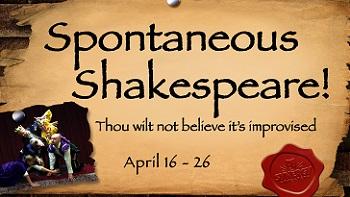 Spontaneous Shakespeare